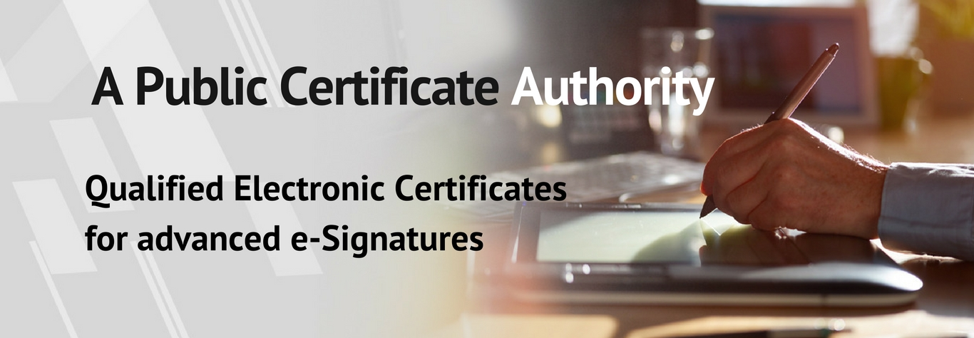 Qualified digital signature