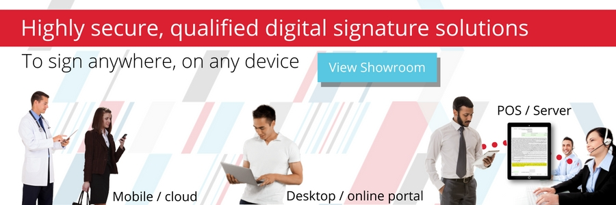 digital signature solutions for all business requirements